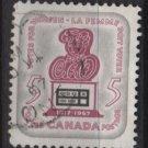 CANADA 1967 - Scott 470 used - 5c, Woman suffrage   (10-544)