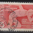 CANADA 1967 - Scott 472 used - 5c, Pan-American games  (10-546)