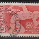 CANADA 1967 - Scott 472 used - 5c, Pan-American games  (10-546)