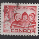 CANADA 1967 - Scott 476 used - 3c, singing children,  Christmas    (10-553)