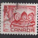 CANADA 1967 - Scott 476 used - 3c, singing children,  Christmas    (10-553)