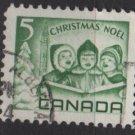 CANADA 1967 - Scott 477 used - 5c, singing children,  Christmas    (10-555)