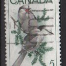 CANADA 1968 - scott 478 used - 5c,  Gray Jays   (10-557)