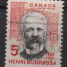 CANADA 1968 - scott 485 used - 5c, Henri Bourassa (10-563)
