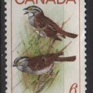 CANADA 1969 - Scott 496 used - 6c, Birds, sparrows (10-569)