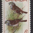 CANADA 1969 - Scott 496 used - 6c, Birds, sparrows (10-569)