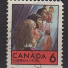 CANADA 1969 - Scott 503 used - 6c, Christmas (10-575)