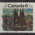CANADA 1970 - Scott 518 used - 6c, The group of 7 Landscape Artists  (10-584)