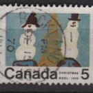 CANADA 1970 - scott 523 used - 5c, Christmas, Children drawing  (10-589)