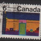 CANADA 1970 - scott 526 used - 6c, Christmas, Children drawing  (10-592)