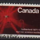 CANADA 1971 - Scott 534 used - 6c, Sir Ernest Rutherford, Nuclear Science (10-597)
