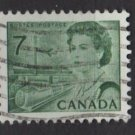CANADA 1971 - Scott 543 used - 7c, Elizabeth II, Transportation means  (10-603)
