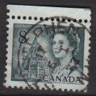 CANADA 1971 - Scott 544 used  - 8c,  Elizabeth II & Library (10-604)