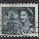CANADA 1971 - Scott 550 coil used  - 8c,  Elizabeth II & Library  (10-605)