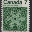 CANADA 1971 - Scott 555  used  - 7c,  Snowflake  (10-609)