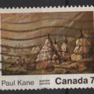 CANADA 1971 - scott 553 used - 7c, Paul Kane Painting (10-607)