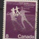 CANADA 1972 - scott 559 used - 8c, Figure skating (10-611)