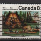 CANADA 1973 - Scott 567 used - 8c, Mic Mac Indians  (10-617)