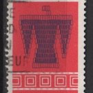 CANADA 1973 - Scott 568 used - 8c, Algonkian pattern(10-618)