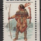 CANADA 1975 - Scott 576 used - Subartic Indian, Ceremonial Costume  (10-623)