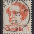 CANADA 1972 - Scott 586 used - 1c, Sir John A MacDonald (10-625)