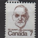 CANADA 1972 - Scott 592 used - 7c Sir Louis St Laurent  (10-631)