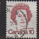 CANADA 1972 - Scott 593A used - 10c Queen Elizabeth II   (10-634)