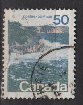 CANADA 1972 - Scott 598 used  - 50c,  Seashore  (10-638)