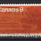 CANADA 1973 - Scott 618 used - 8c, Oaks, Prince Edward Island  (10-649)