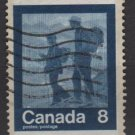 CANADA 1974 - scott 632 used - 8c, Keep fit, summer Olympic, Hikers (10-659)