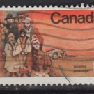 CANADA 1974 - scott 643  used - 8c,  Mennonite settlers (10-663)