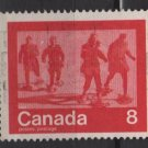 CANADA 1974 - Scott 644 used - 8c, Keep fit , Snowshoeing  (10-664)