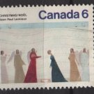 CANADA 1974 - Scott 650 used - 6c,  Christmas painting   (10-669)