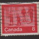 CANADA 1974 - Scott 645 used - 8c, Keep fit , Skiing (10-665)