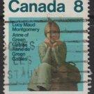 CANADA 1975 - scott 658 used - 8c,  Lucy Maud Montgomery   (10-674)