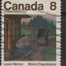 Canada 1975 - Scott 659 used - 8c, Maria Chapelaine    (10-675)