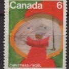CANADA 1975 - Scott 674 used - 6c, Christmas Children drawing   (10-681)