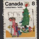 CANADA 1975 - Scott 677 used - 8c, Christmas Children drawing (10-683)