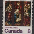 CANADA 1976 - scott 697 used - 8c, Christmas      (10-690)
