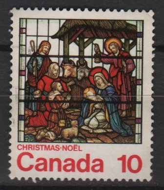 CANADA 1976 - scott 698 used - 10c, Christmas      (10-692)