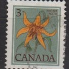 CANADA 1977 - Scott 708 used  - 3c,  Lily (10-695)
