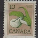 CANADA 1977 - Scott 711 used - 10c, Franklin's Lady's-slipper   (10-698)