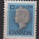 CANADA 1977 - Scott 713 used - 12c, Elizabeth II    (10-701)