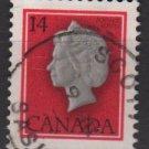 CANADA 1977 - Scott  716  used - 14c, Elizabeth II    (10-706)