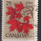 CANADA 1977 - Scott 719 used - 25c, Maple   (10-711)