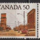 CANADA 1977 - Scott 723 used - 50c,  Main Street Prairie Town   (10-714)
