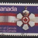 CANADA 1977 - scott 736 used - 12c, Order of Canada  (10-722)