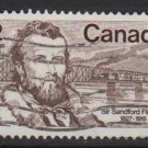 CANADA 1977 - Scott 739 used - 12c,  Sandford Fleming  (10-724)