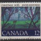 CANADA 1977 - scott 742 used - 12c, Christmas   (10-726)