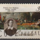 Canada 1988 - Scott 1227 used - 37c, France Ann Hopkins  (11-150)